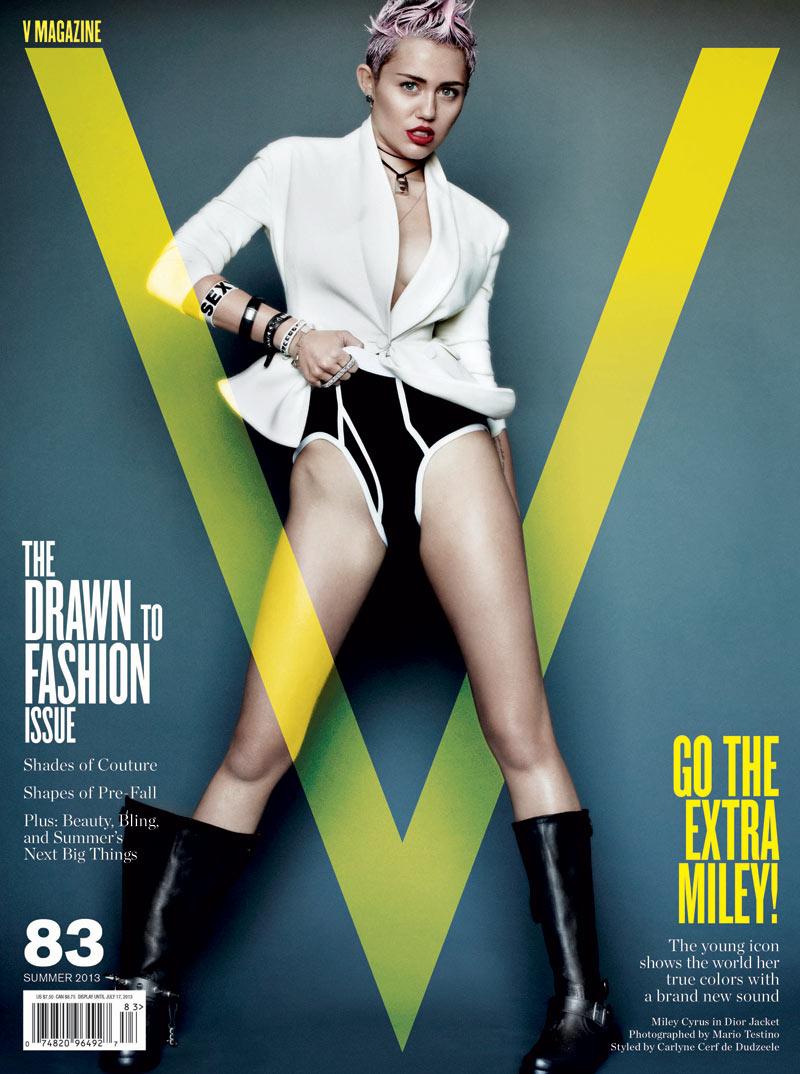 magazine v Miley cyrus