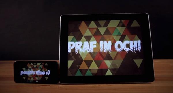 Praf in ochi se intorc cu Pentru tine (videoclip)