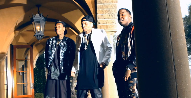 Sean Kingston feat Chris Brown, Wiz Khalifa - Beat It (videoclip)