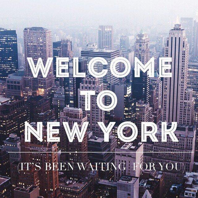 Dedicat orasului in care s a mutat de curand welcome to new york