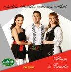 """Andra, Sandel si Aurora Mihai - """"Album de Familie"""" coperta"""