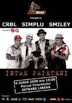 Concert Simplu, Smiley & CRBL @ ATVRom (6 iunie)