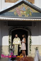 Poze botez Sofia Maria (fiica Andreei Banica - Lucian Mitrea)