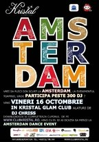 Kristal Glam Club te trimite la Amsterdam Dance Event