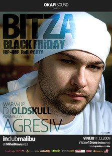 Vineri, 11 decembrie: Concert Bitza @ Black Friday