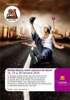 Concurs de street dance @ City Mall Bucuresti