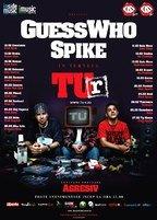 Afis + lista orase turneu national Guess Who & Spike - TU-r