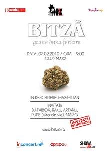 "Concert lansare BITZA ""Goana dupa fericire"": 7 februarie"
