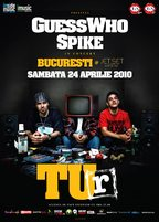 Concert GUESS WHO & SPIKE - TU-R @ Bucuresti: 24 aprilie