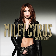 Coperta oficiala album: Miley Cyrus - Can't Be Tamed