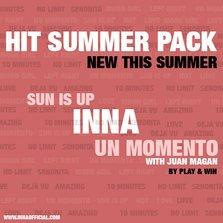 "Piese noi INNA: Sun Is Up & Un Momento (Teaser) + video original ""10 minutes"""