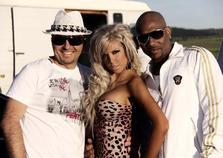 Poze filmari videoclip: Sahara (Costi & Andrea) si Mario Winans