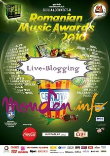 Live-Blogging: Romanian Music Awards 2010 @ Craiova