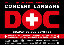 CONCURS! Castiga invitatii la concertul de lansare: DOC - Scapat de sub control