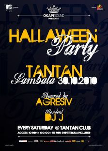HALLAween Party @ Tan Tan By Agresiv + concurs & poze ReOpening