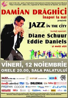 CONCURS! Castiga invitatii la Jazz in the city @ Sala Palatului
