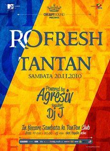 RO-Fresh Party @ Tan Tan: 20 noiembrie (+ concurs)