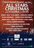 Concurs! Castiga invitatii duble @ All Stars Christmas Show