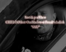 "Sneak preView CHELOO feat Ombladon si Freakadadisk ""SAU"""