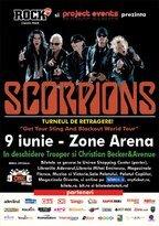 CONCURS! Castiga doua invitatii duble la concertul Scorpions!