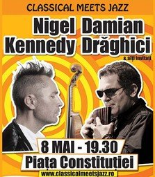 Au mai ramas 3 zile pana la concertul Damian Draghici si Nigel Kennedy