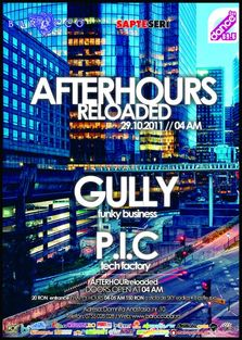 After Hours Reloaded cu Gully si P.I.C. in Barocco Bar