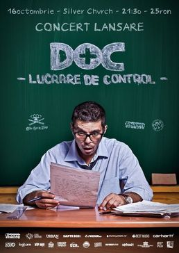 DOC lanseaza albumul Lucrare de control in The Silver Church