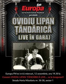 Ovidiu Lipan Tandarica canta in Garajul Europa FM