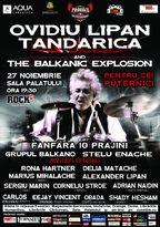 Ovidiu Lipan Tandarica and the Balkanic Explosion la Sala Palatului