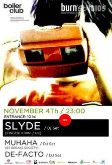 Slyde @Boiler Club Cluj Napoca