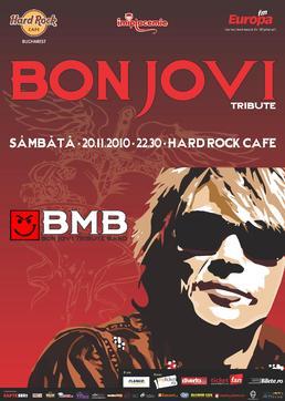 Concert BMB - Tribut Bon Jovi in Hard Rock Cafe