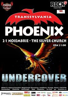 Concert PHOENIX in The Silver Church din Bucuresti