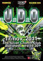 Concert U.D.O. in The Silver Church la Bucuresti