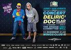 Concurs! Castiga 3 invitatii duble la concertul Deliric 1, DOC si Vlad Dobrescu!