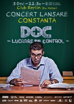 Concert DOC - Lucrare de Control - Berlin Club Constanta