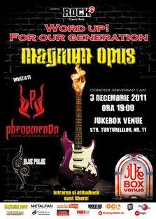 Concert Aniversar: Magnum Opus in Jukebox Venue!