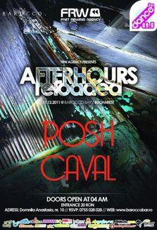 AfterHours cu Posh si Caval in Barocco Bar