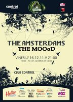 Concert The Amsterdams si Ice Black Birds in Club Control  (update!)