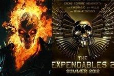 "2 trailere noi pentru 2 sequeluri - ""Ghost rider:Spirit of vengeance"", ""The Expendables 2"""