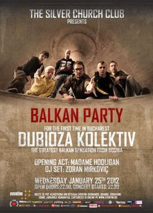Balkan Party - Concert DUBIOZA KOLEKTIV la The Silver Church
