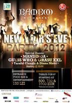 New Year's Eve Party 2012 in Bamboo Bucuresti