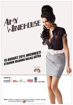 Concert ANULAT Amy Winehouse in Romania - 15 august 2011