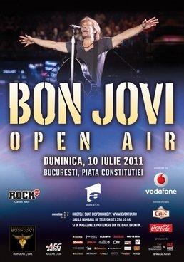 Concert Bon Jovi in Piata Constitutiei din Bucuresti