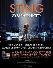 Concert Sting la Bucuresti!