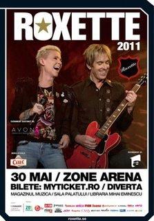 Concert ROXETTE la Zone Arena Bucuresti