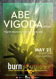 Concert Abe Vigoda in Boiler Club Cluj Napoca