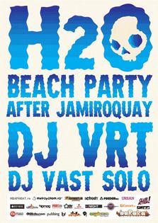 After party Jamiroquai pe plaja H2O!
