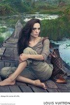 Angelina Jolie in campania Louis Vuitton