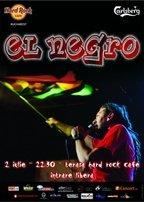 Concert El Negro in Hard Rock Cafe Bucuresti