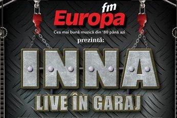 INNA live in Garajul Europa FM